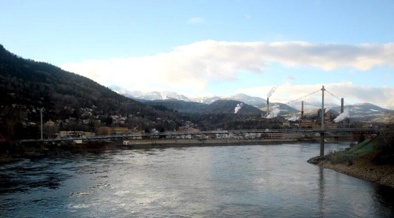 River gorge and bridge