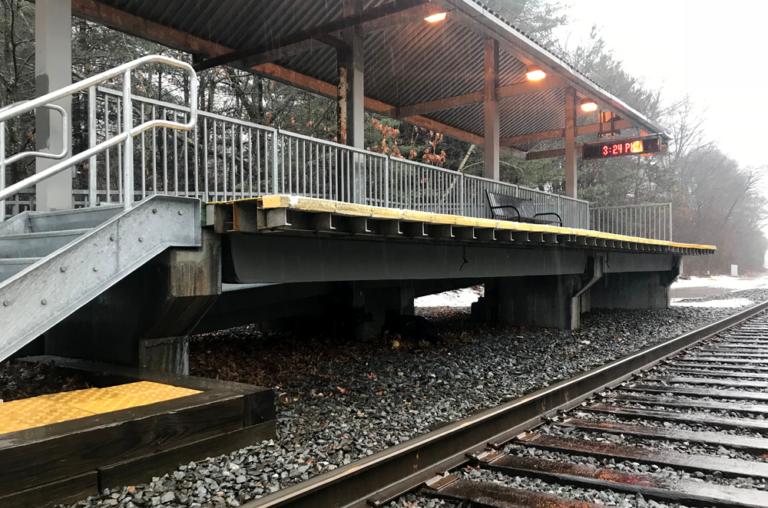 Finished platform